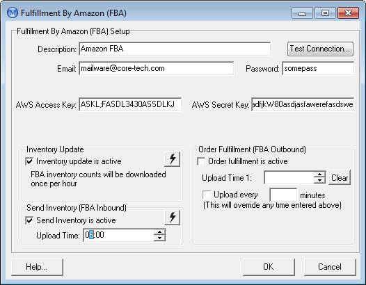 Amazon FBA Setup