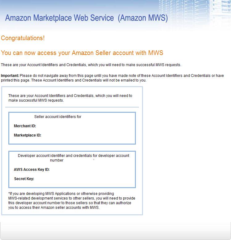 Amazon Login Credentials